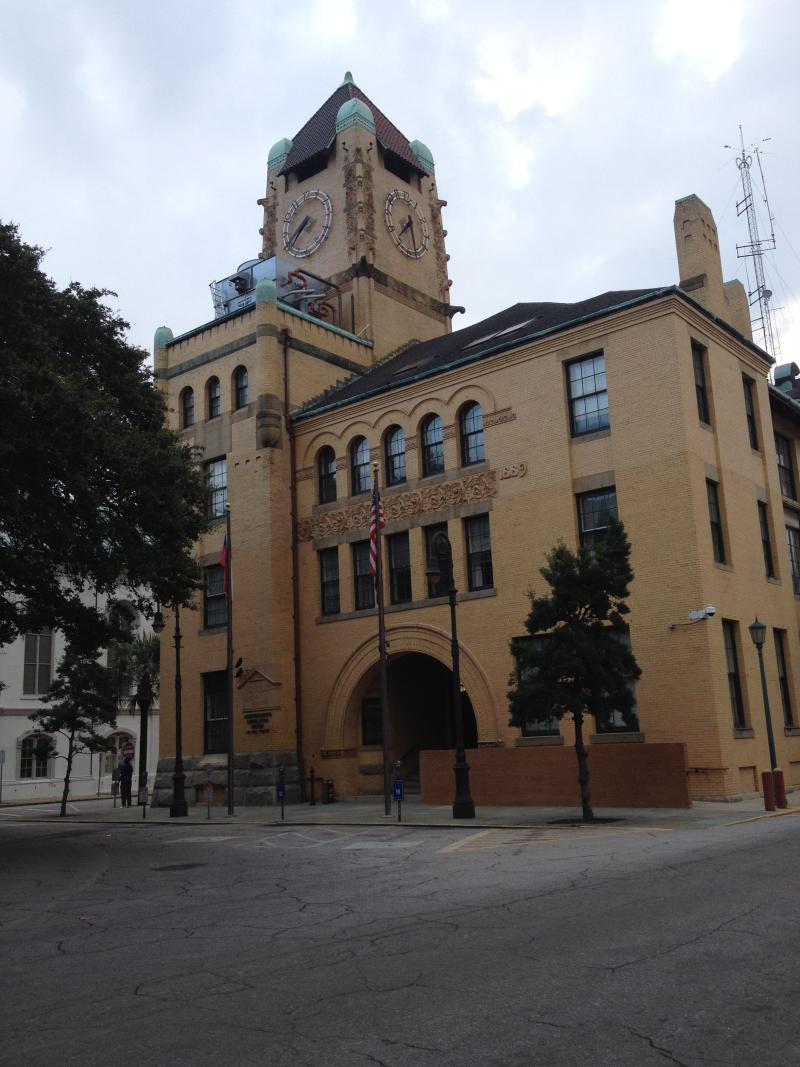 Old Chatham County Courthouse  Savannah  GA
