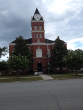 Wayne County Courthouse   Jesup  GA