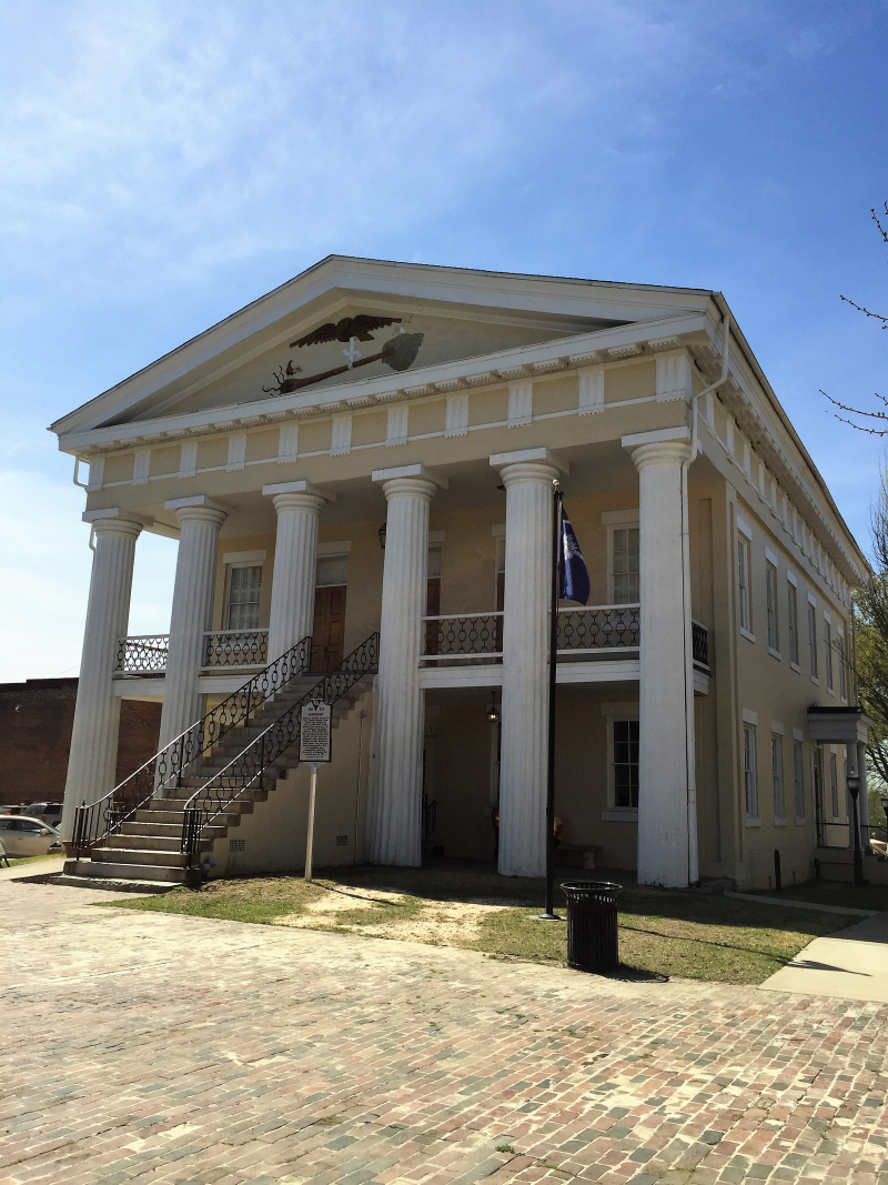Old Newberry County Courthouse  Newberry  SC