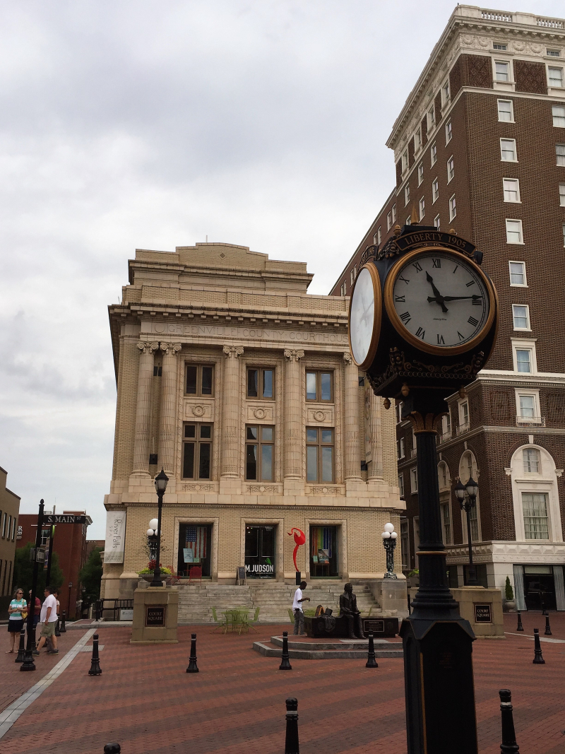 Hist. Greenville Co. Courthouse SC