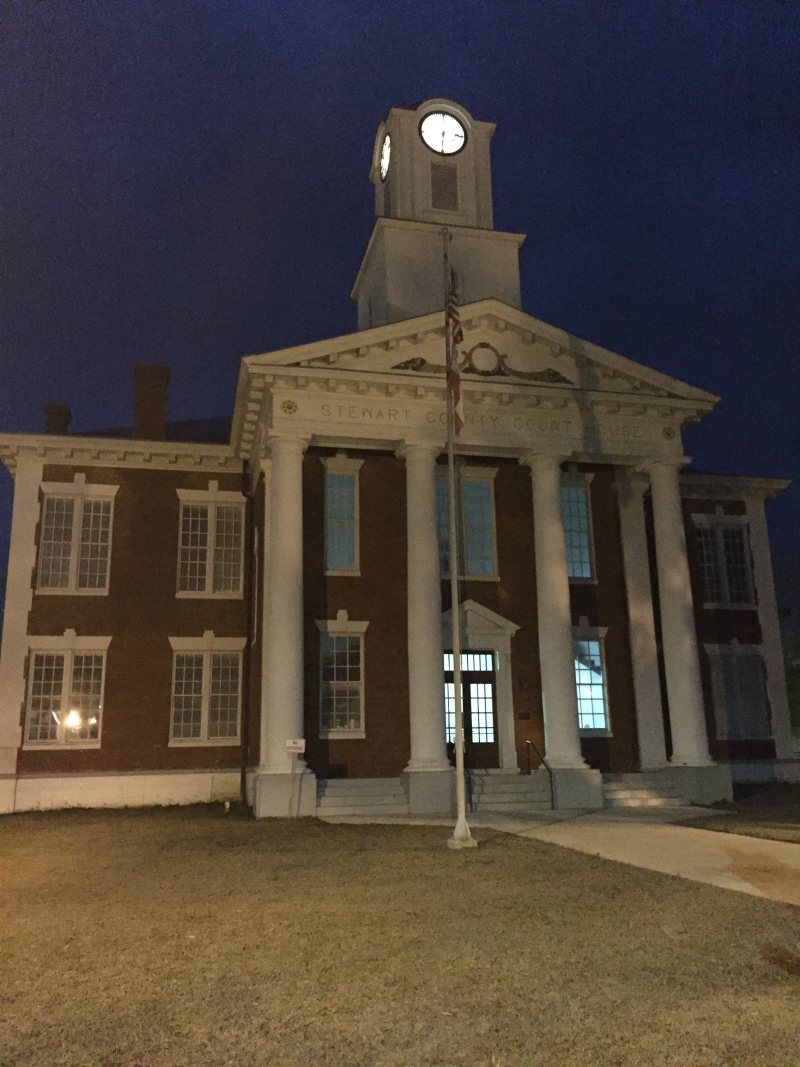 Stewart Co. GA Courthouse