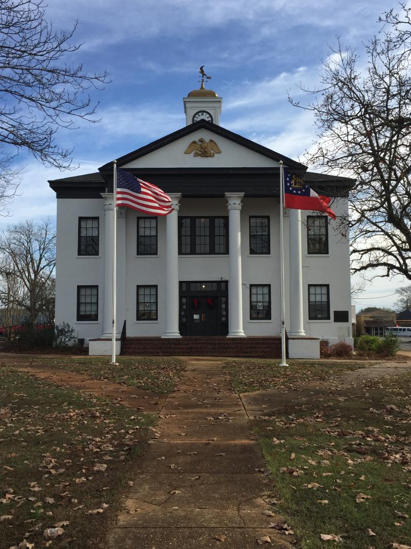 Marion Co. GA Courthouse  Buena Vista