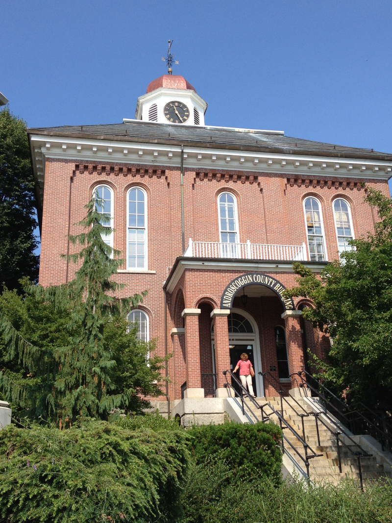 Androscoggin County Courthouse  Auburn  ME