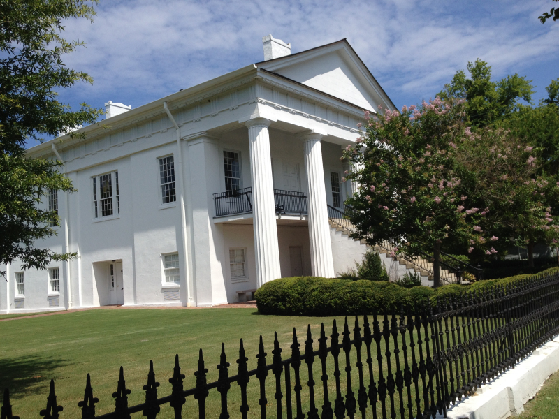 Old Kershaw County Courthouse  Camden  SC