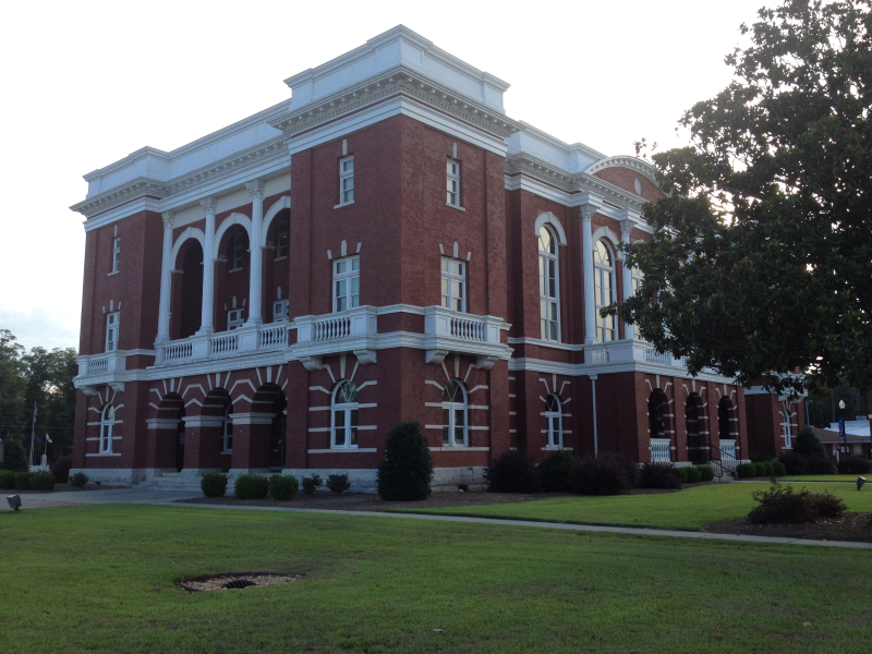 Tattnall County Courthouse  Reidsville  GA