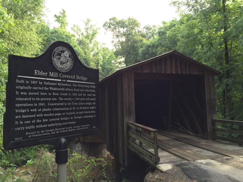 Elder Mill Covered Bridge  Watkinsville GA