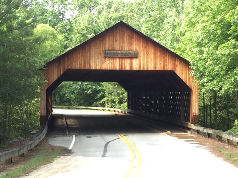 Conyers Covered Bridge  Conyers GA