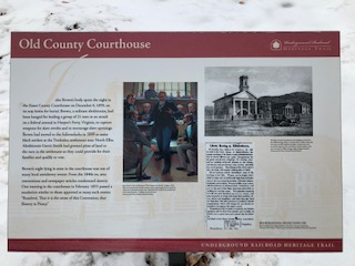 Essex Co. Courthouse Sign