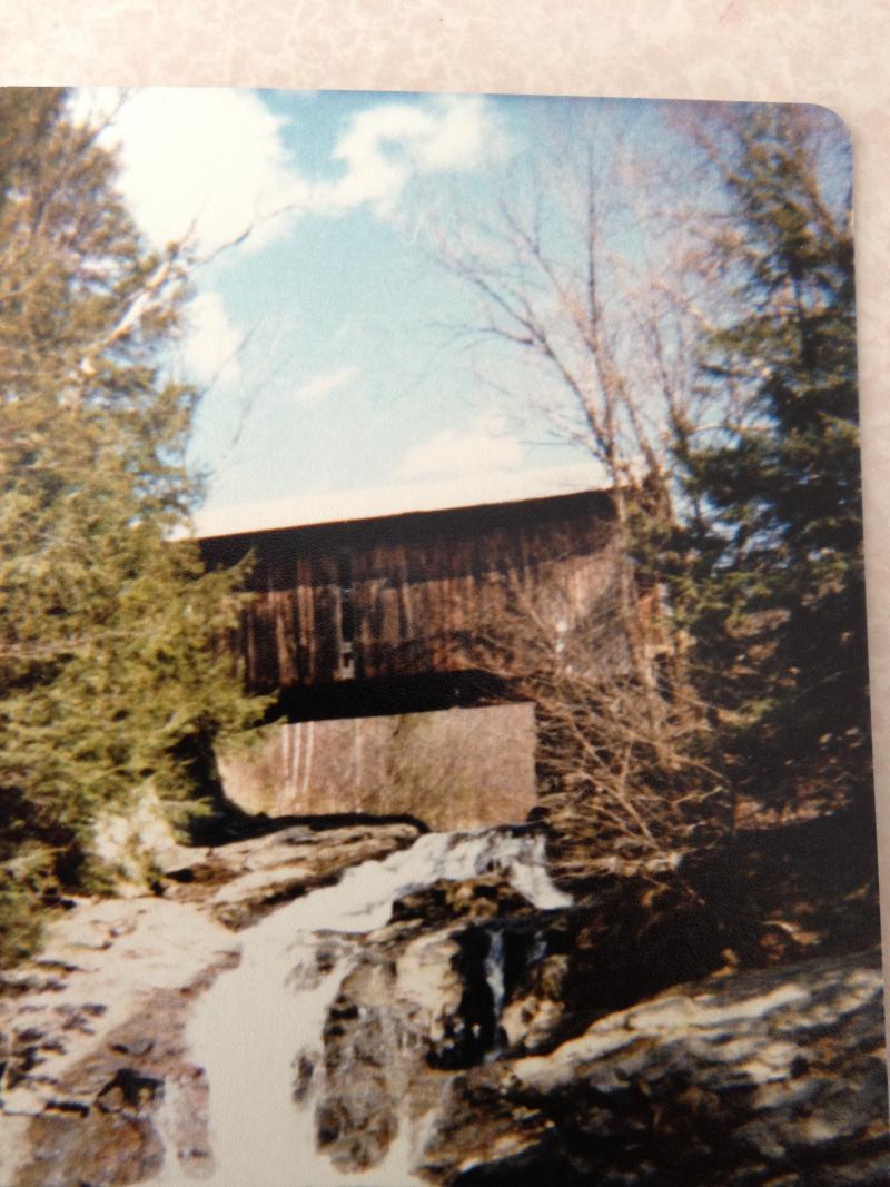Creamery Bridge  Montgomery  Vermont