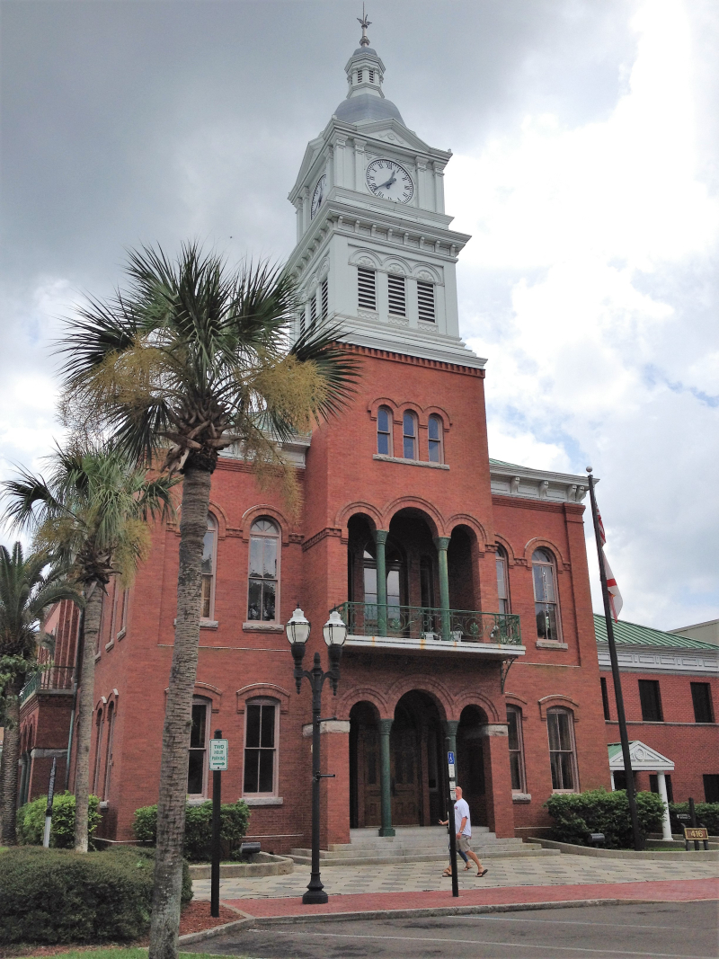 Old Nassau County Courthouse  Fernandina Beach  FL