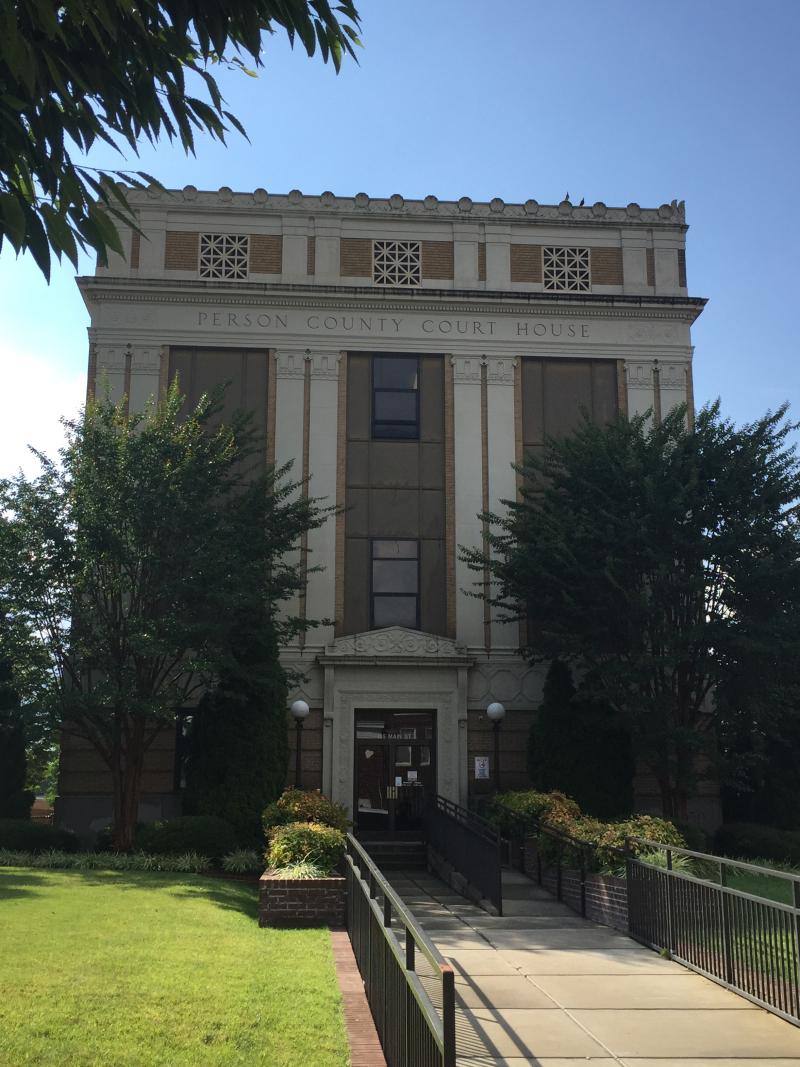 Person Co. Courthouse  Roxboro NC