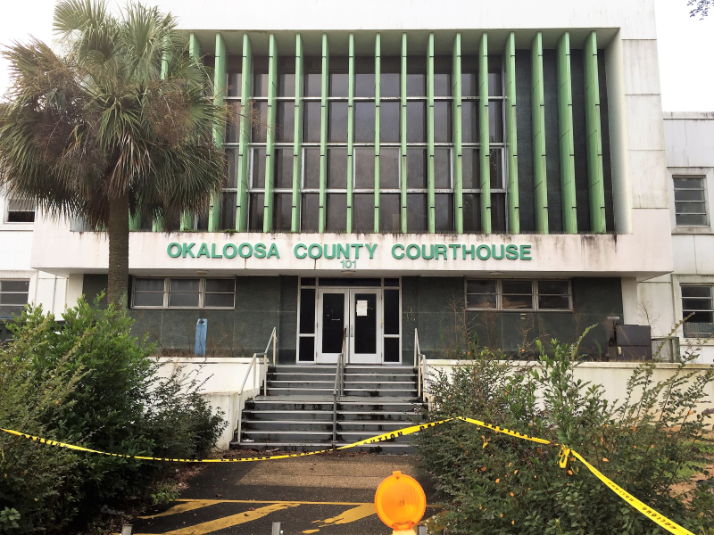 Okaloosa Co. Courthouse  Crestview  FL