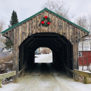 Village Bridge Waterville VT