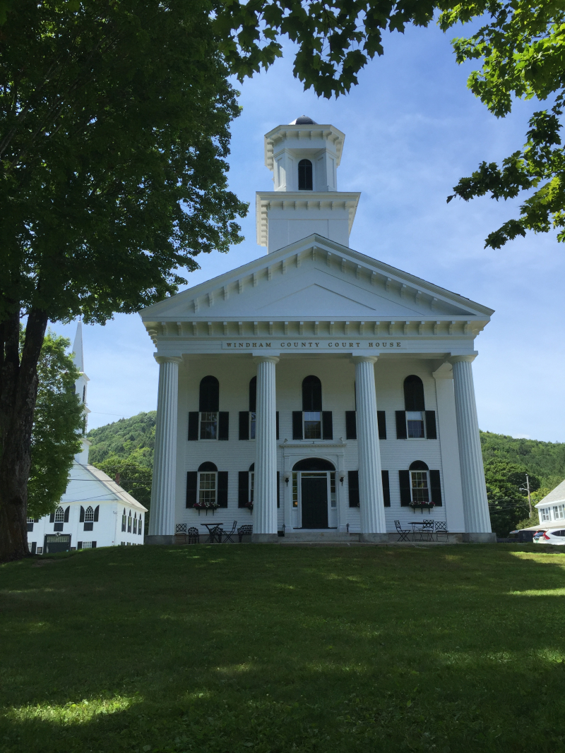 Windham County Courthouse  Newfane VT
