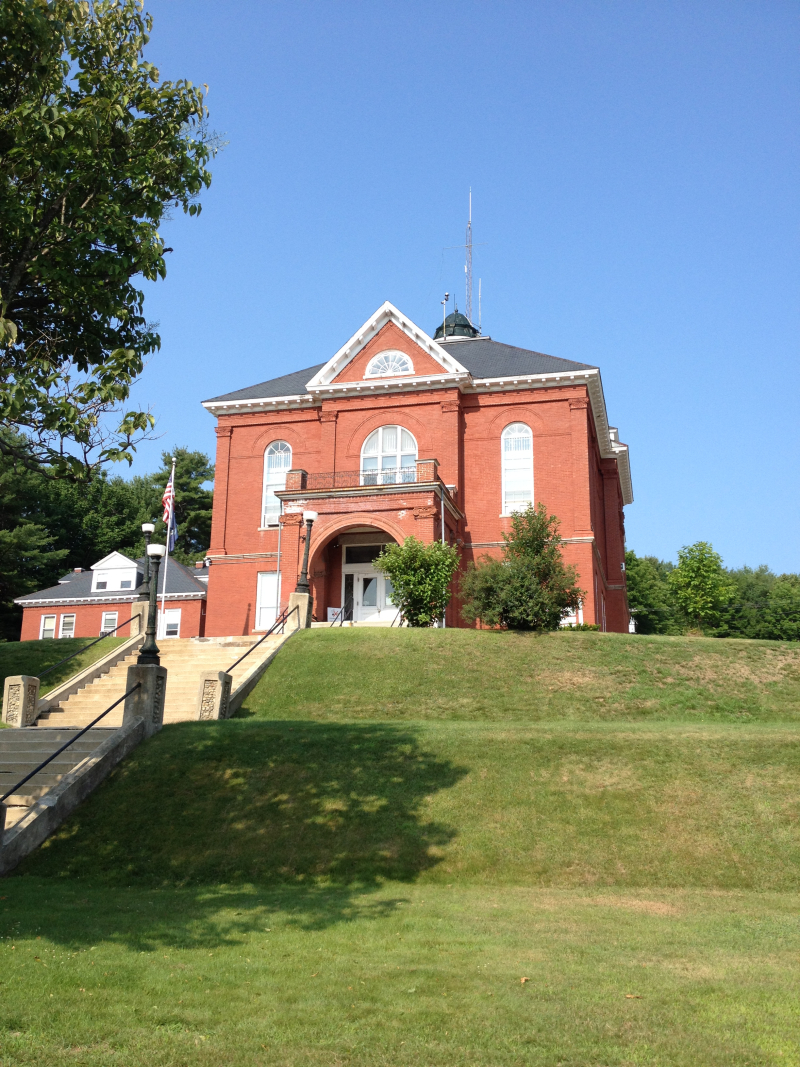 Oxford County Courthouse  South Paris ME
