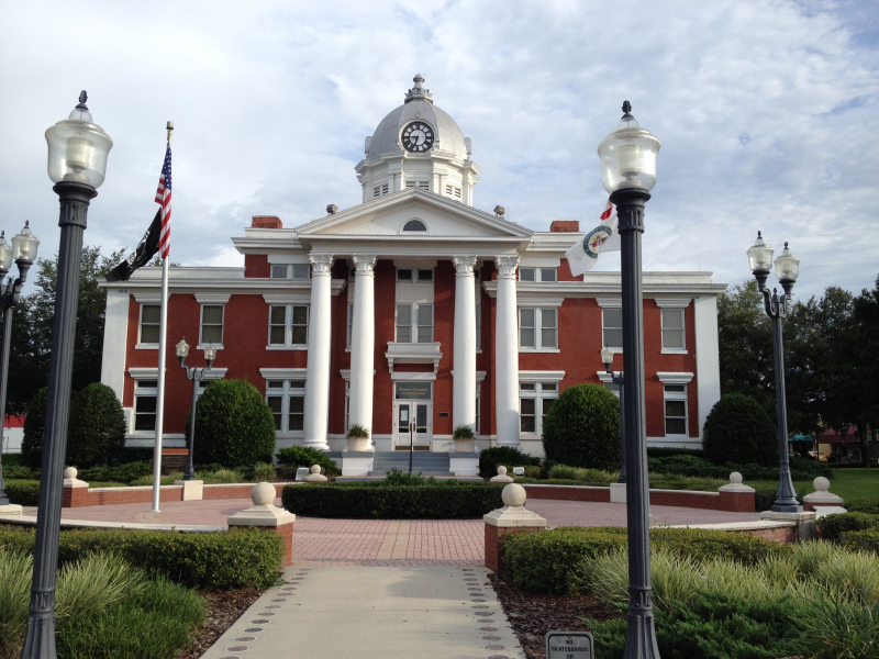 Old Pasco Co.  Courthouse  Dade City  FL