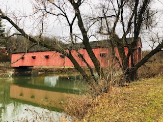 Buskirk Covered Bridge side view