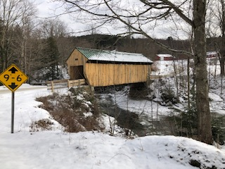 Kissing Bridge Waterville VT
