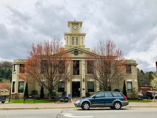 Historic Yancey Co. Courthouse