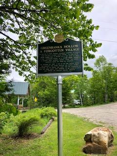 Greenbank's Hollow Hist sign