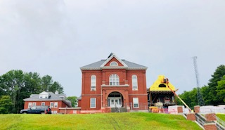 Oxford County Courthouse w addition