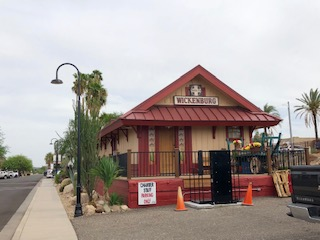 Wickenburg RR Depot