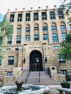 Entryway Historic Maricopa Co. Courthouse