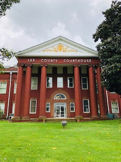 Lee Co. Courthouse NC