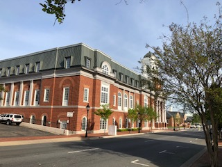 Fredericksburg VA City Courthouse