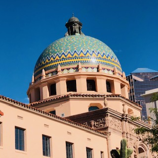 Cupola of Historic Pima Co. Courthouse