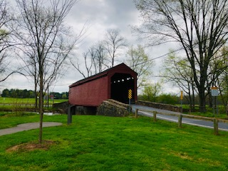 Loy's Station Covered Bridge MD
