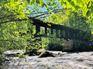 Sulphite RR Covered Bridge