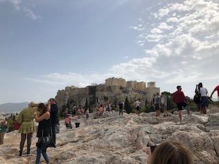 Mars Hill Acropolis view