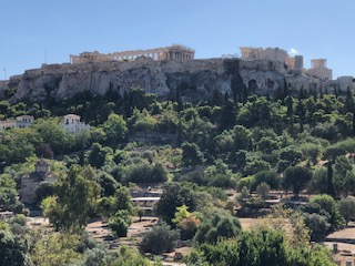 Acropolis View from Temple