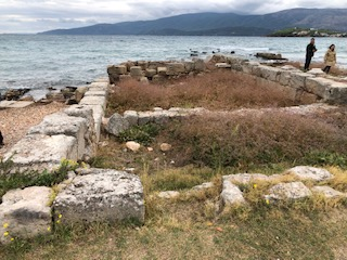 Byzantine temple ruins