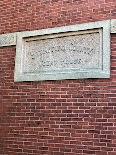 Strafford Co. Courthouse Sign