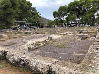 Epidavros public baths