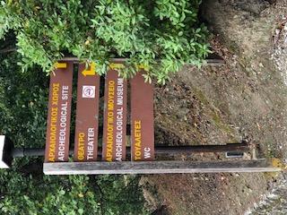 Epidavros sign