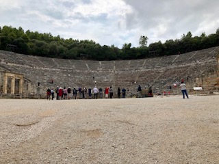 Epidavros theatre 1