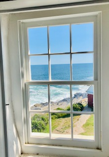 Pemaquid Lighthouse window