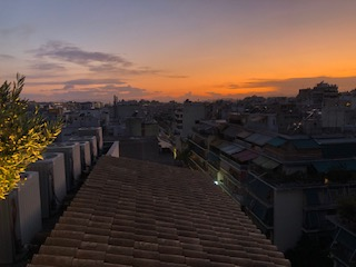 Athens sunset 2