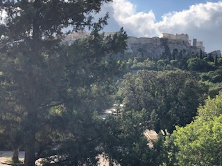 Agora view of acropolis