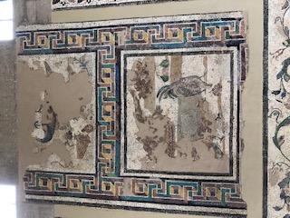 Corinth Museum Mosaic