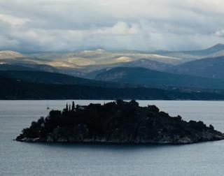 Island monastery