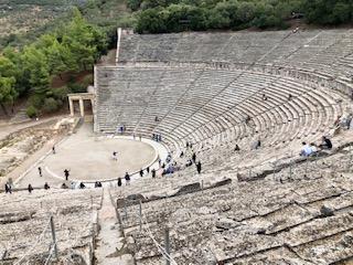 Epidavros theatre 3