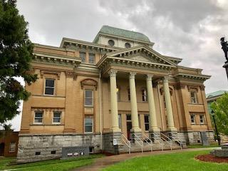 Historic Randolph County Courthouse  Asheboro NC April 2019