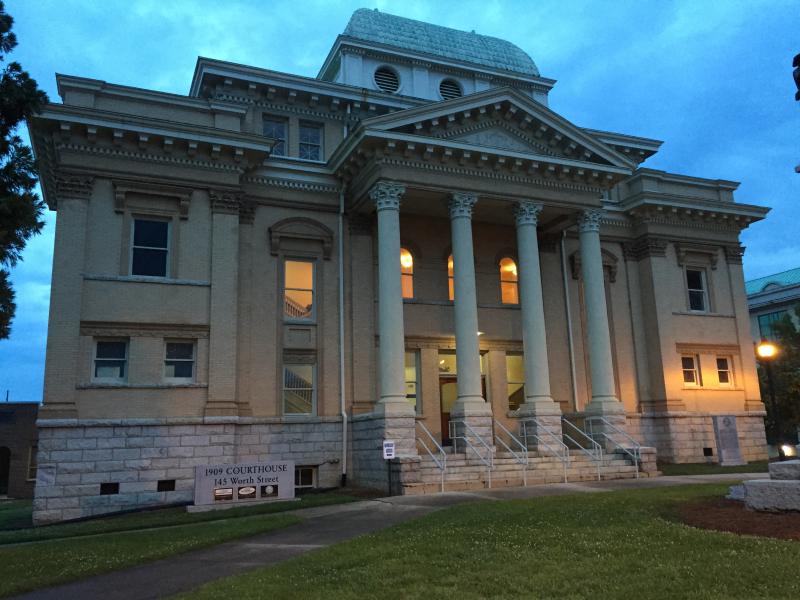 Historic Randolph County Courthouse  Asheboro NC