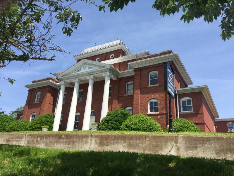 Historic Stokes County Courthouse  Danbury NC