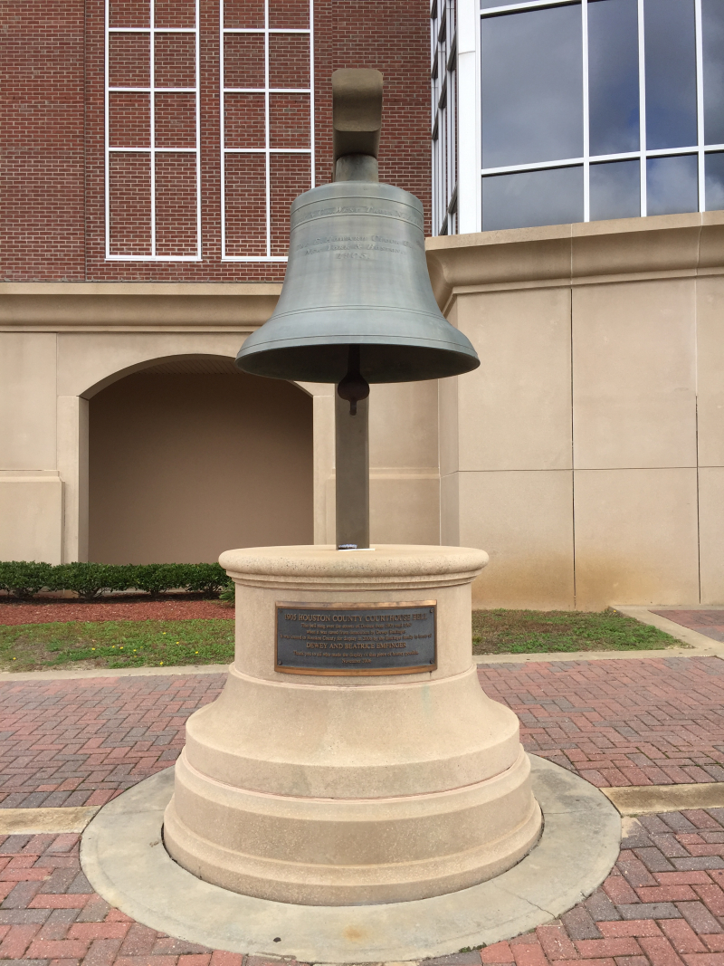 Houston Co. Courthouse Bell  Dothan AL