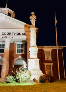 Confederate Monument Hillsville VA